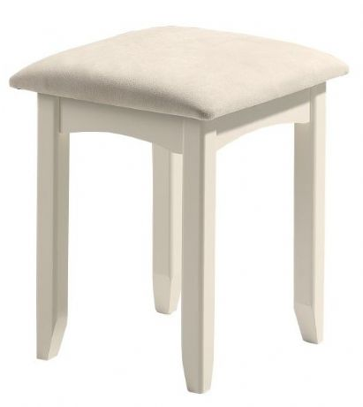 Cameo White Stool Sale Now On Your Price Furniture